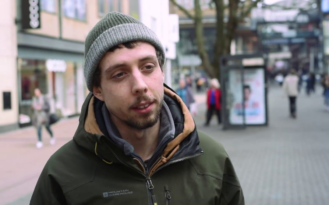 Young Entrepreneurial Business Owner Millennials – A vox pop-style video for Dunstan Thomas